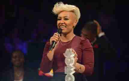 onstage at the 2012 MOBO awards at Echo Arena on November 3, 2012 in Liverpool, England.