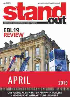 Stand Out April 2019